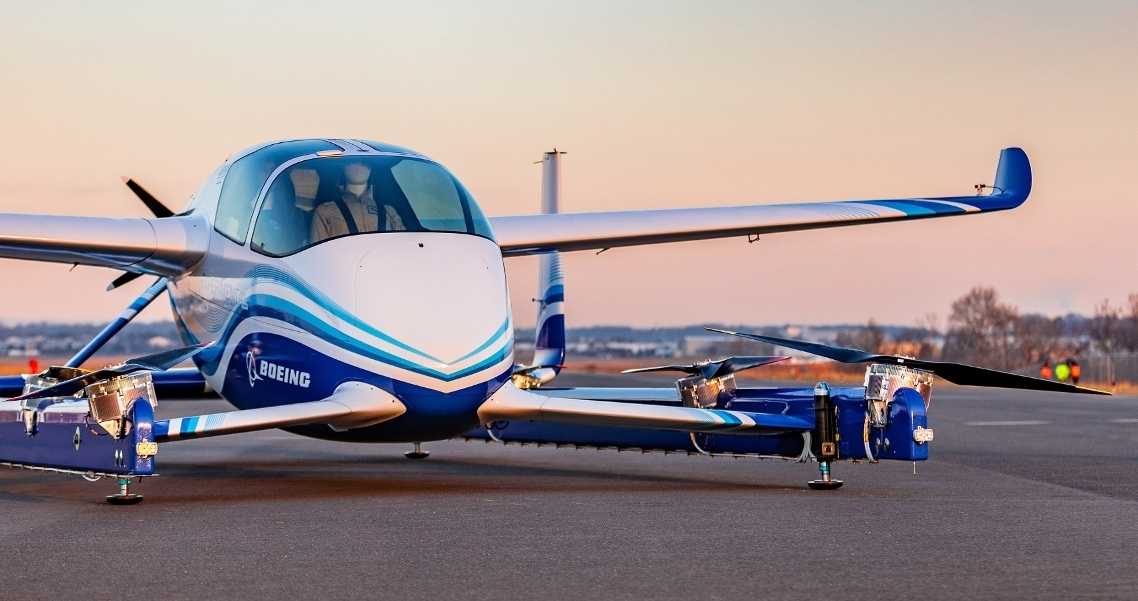 Boeing completes first flight of autonomous passenger air