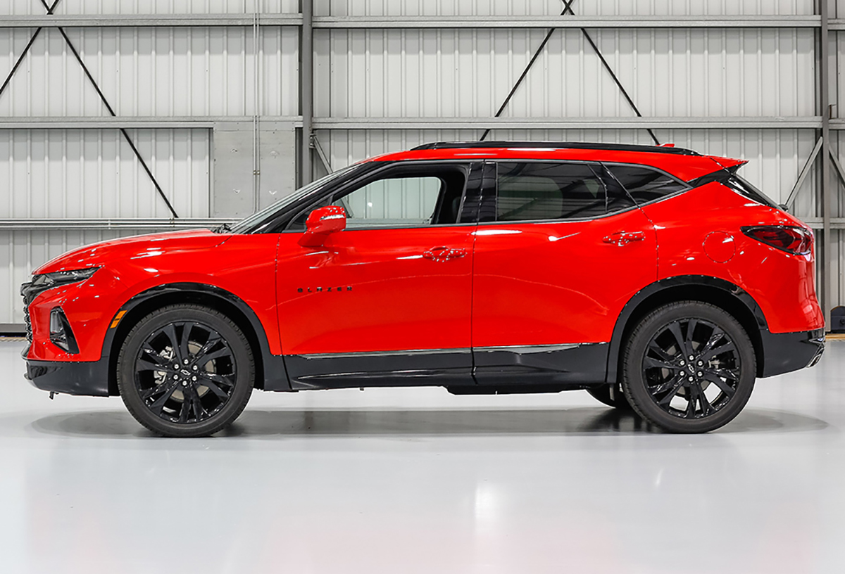 2019 Chevrolet Blazer: Sharply styled and right-sized for ...
