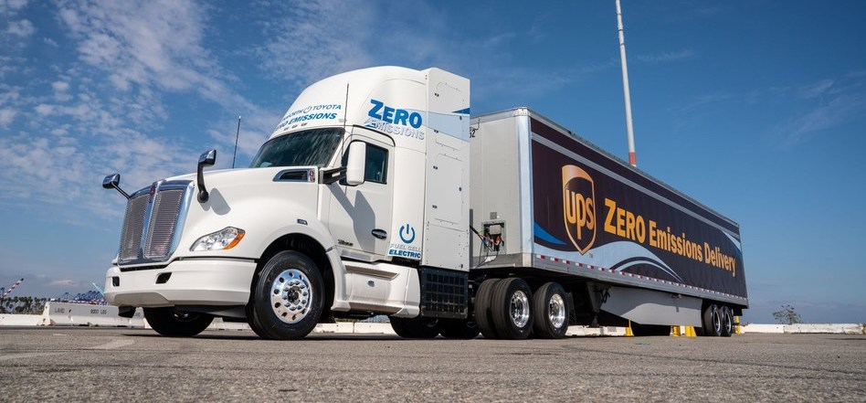 Toyota and Kenworth introduce fuel cell electric heavy-duty