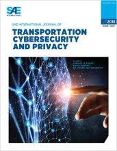SAE International Journal of Transportation Cybersecurity and Privacy