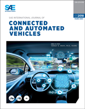 SAE International Journal of Connected and Automated Vehicles