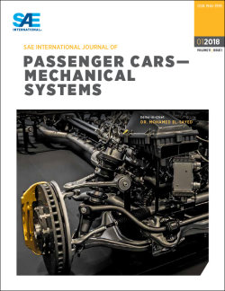 SAE International Journal of Passenger Cars - Mechanical Systems
