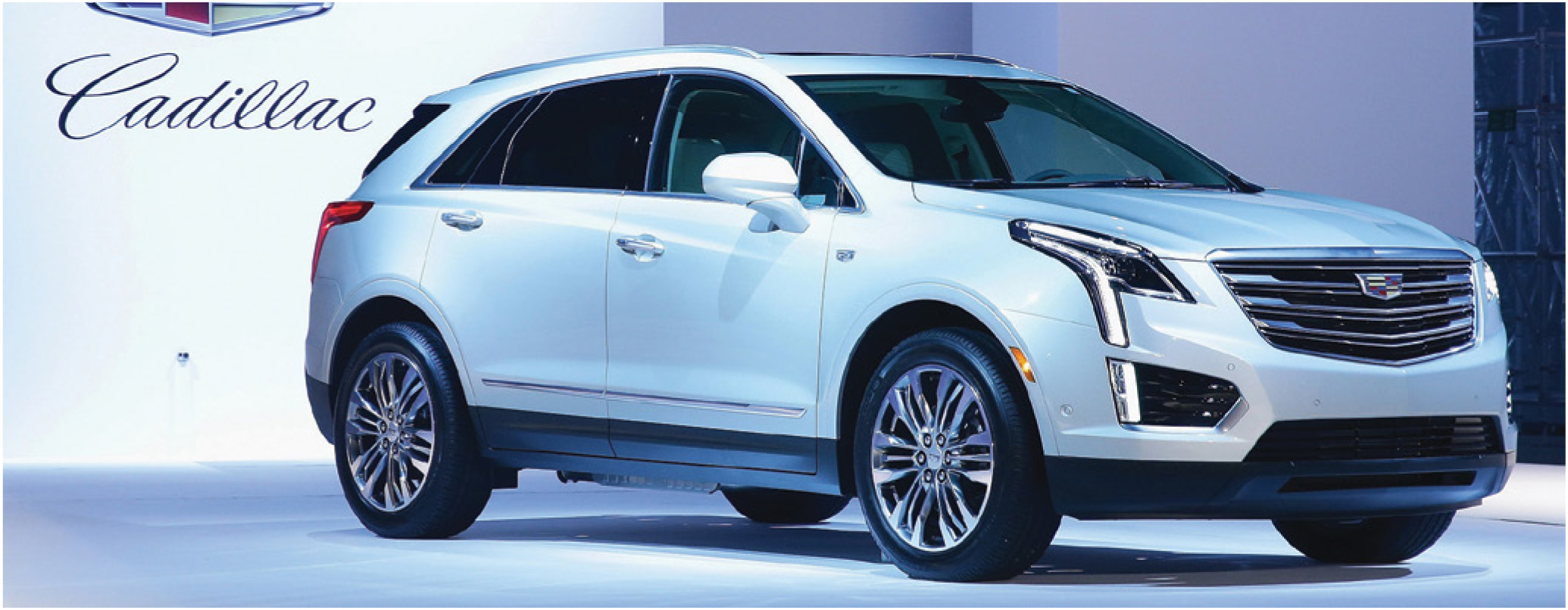 Underpinned by GM's all-new architecture for midsized utilities, the 2017 Cadillac XT5 will compete with the Audi Q5, Lexus RX, and other premium crossovers.